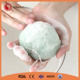 자연적인 청소 Konjac 갯솜 피부 청소