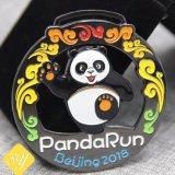 Bester Qualitätskundenspezifischer Marathon-Sport überzogene Großhandelsgoldmedaille