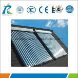 Алюминиевый солнечный коллектор трубы жары с солнечным Keymark En12975, SRCC