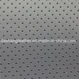 La vente de bien china pas cher en cuir de PVC perforés (DN-027)