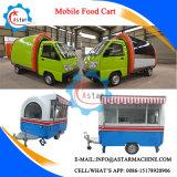 Camion rentable de restauration de kiosque de nourriture de véhicule électrique de modèle