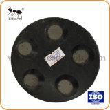 5 Segments Tampon à polir en métal Outil Outil de polissage de diamants pour béton de plancher de pierres. Haut de la qualité et bon de tenir compte de meulage
