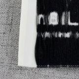 Personalizados de alta densidade de 100% de poliéster etiquetas de tecidos