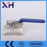 1PC Válvula de bola de acero inoxidable 304 DN15