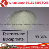 Testosterona esteróide quente favorecida homem Isocaproate CAS 15262-86-9 do pó do músculo
