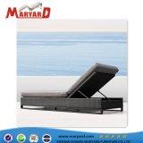 Luxux-PET Rattan-Tagesbett und Weidensun-längerer Wagen-Aufenthaltsraum geeignet für Yacht