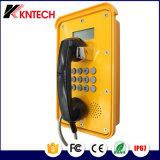 Telefone VoIP resistente à intempérie telefone telefone com visor LCD Industriais