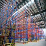 Sistema d'acciaio di racking del pallet di memoria del magazzino resistente