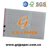 papel de carta de la talla del rodillo de los 50mm*20m para ECG-6511/6851 monocanal