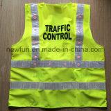 maglia gialla infiammante di visibilità dell'OEM di 24PCS LED alta