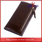 Долго реле муфты из натуральной кожи организатор дамы Wallet кошелек для владельца карты