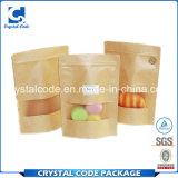 Volumen grande y pequeña bolsa de papel de Kraft del alimento del beneficio