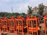 Qtj4-40b het Maken van de Baksteen van de Dieselmotor Halfautomatische Machine Hete Verkoop in de Markt van het Kanton