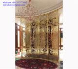 Projet de décoration intérieure d'acier inoxydable pour le décor d'hôtel de 5 étoiles