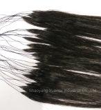 Indicatore luminoso eccellente di estensione dei capelli umani della piuma & uso facile
