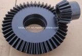 Коническое зубчатое колесо Rotavator зубов высокой точности стальное прямое