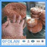 Os pedidos de tecidos de malha de limpeza de cobre