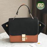 Saco de mão famoso da colisão da cor da bolsa da senhora de sacos compra do Tote do tipo do estilo novo de China Sy8645