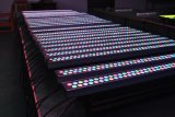 En el interior de alta potencia 84*3W RGBW efecto LED bañador de pared de la luz de la barra