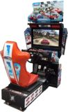 32 Zoll-überholte laufende Simulator-Bewegtmaschine, die Zustimmung überholte elektronische Auto-LaufenVideospiel-Maschine läuft