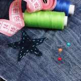 縫うことのための装飾的で多彩な円形のガラスまっすぐなヘッドPinのDressmaking Pin
