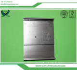 Aluminiumbuchse, CNC maschinell bearbeitet und Schwarzes anodisiert