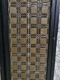 Nuevo Preminum resina cobre Metal decorativos de vidrio mosaico de acero inoxidable
