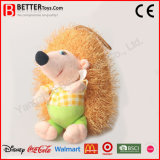 Juguete suave relleno lindo del erizo de los animales de la felpa para los cabritos del bebé