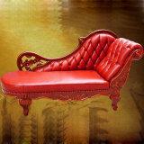 De klassieke Chaise van het Leer Bank van de Zitkamer (95)