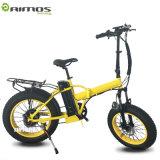 Bici eléctrica de la potencia de la suspensión completa grande de Ebike con la batería de litio de Panasonic