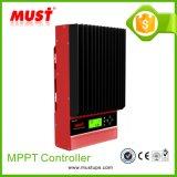 60A Controlemechanisme van de 12V/24V/36V/48V het ZonneLader MPPT