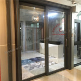 Puertas deslizantes del panel de cristal de aluminio de la puerta deslizante con los obturadores autos