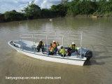 Liya 7.6m Schillen van de Boot van het Werk van de Glasvezel voor de Boot van de Passagier van de Verkoop