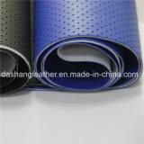 Vender bem China barato couro PVC perfurado (DN-027)