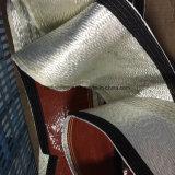 Silicone Sleeving trançado E-Vidro da fibra de vidro revestido
