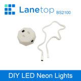 batterie 3xaa Using piegare l'indicatore luminoso al neon del LED