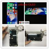 LCD Scherm OLED van de Telefoon van de Vervanging het mobiele Zachte voor iPhone X, het Scherm van OLED LCD voor iPhone X