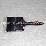 4inch de zwarte Zuivere Borstel van de Verf van het Varkenshaar (yy-HL022)