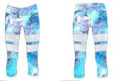 Malha de calças de Yoga infantil colorido crianças Ginásio de Desgaste do vestuário de desporto