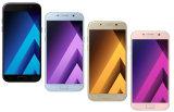 """2017 Hete Verkoop 5.7 """" A7 Telefoon A720f Dubbele GSM SIM Geopende Mobiele Telefoon"""