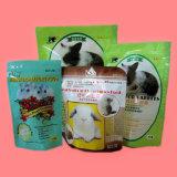 Sac de empaquetage estampé par couleur pour le crabot et les aliments pour chats/aliments pour animaux aliment pour animaux familiers/