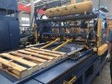 Pálete de madeira automática que prega a máquina para a venda