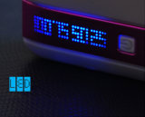 3 puertos USB 6000mAh Batería recargable de Banco de potencia de alimentación del equipo