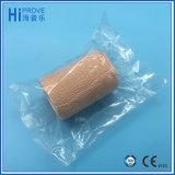 Fasciatura impermeabile del cotone del lattice di alta qualità dell'involucro coesivo autoadesivo libero della fasciatura per cura di animale domestico di sport