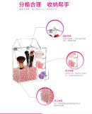 Brosse cosmétique le godet en acrylique transparent