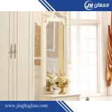 浴室の装飾の家具のためのFramless現代円形の斜めミラー