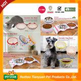 Natureza de alta qualidade grossista tigela de comida para cão de estimação