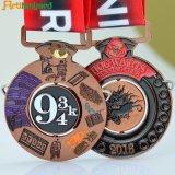 Médaille en alliage de zinc personnalisée en métal de sports