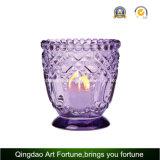 Suporte para velas de vidro da tampa de metal para fabricante de velas