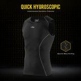 運動のための人のスポーツシャツの体操のタンクトップの適性の縦桁